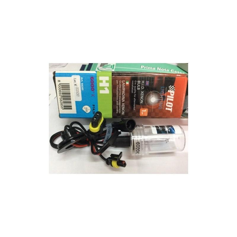 LAMPADINA H.I.D. XENON 12/24V - H1 6000K - Autoricambi Cimino