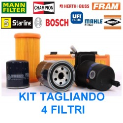 KIT tagliando 4 Filtri Ford Focus C-Max 1.8 TDCI 115CV