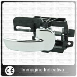MANIGLIA APRIPORTA 500/126 2FORI CROMATA