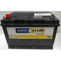 Batteria Eurostart 100Ah 720A spunto Positivo SX (+SX)