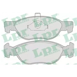 Kit Pastiglie freno anteriori Punto 188 1.3 multijet, 1.9 D, JTD