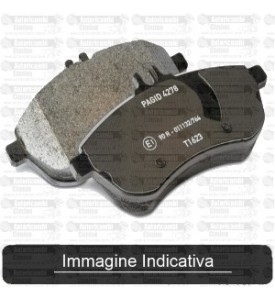 PASTICCHE PASTIGLIE FRENO AUDI/VW S/SPIA 19mm