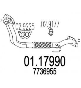 COLLETTORE TUBO SCARICO PUNTO 55 1100 cc