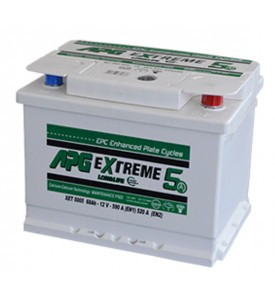 BATTERIA APG EXTREME3 MAX 68AH 590A SPUNTO POSITIVO DX (+DX)