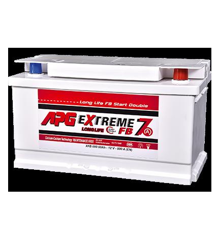 BATTERIA APG EXTREME7 START DOUBLE 68AH 540A SPUNTO POSITIVO DX (+DX)
