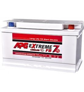 BATTERIA APG EXTREME7 START DOUBLE 85AH 770A SPUNTO POSITIVO DX (+DX)
