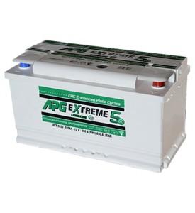BATTERIA APG EXTREME5 MAX 85AH 770A SPUNTO POSITIVO DX (+DX)