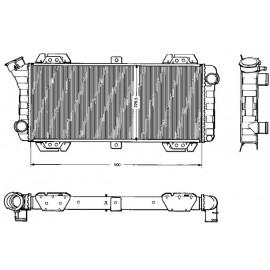 Radiatore motore Fiesta 0.9 - 1.1 dal '76 a '83
