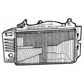 PROIETTORE TIPO 88-93 H4 ANTERIORE SINISTRO ORIGINALE FIAT - ELMA