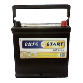 BATTERIA EUROSTART 45AH 400A SPUNTO POSITIVO DX (+DX) - TIPO R4/R5